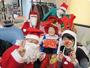 デイサービス行事クリスマス会